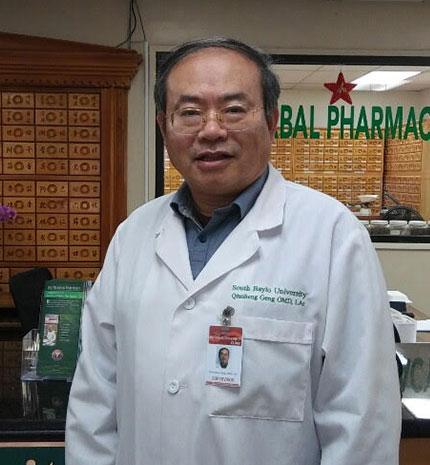 Qui Sheng Geng, L.Ac., BM (China), MS, OMD