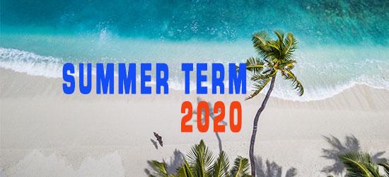 Summer Term 2020