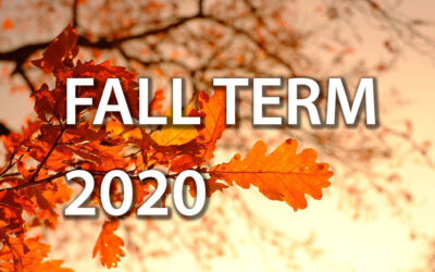 Fall Term 2020