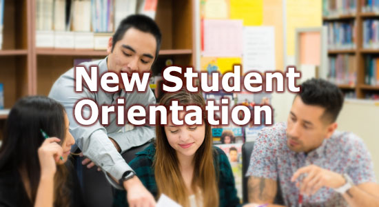 New Student Orientation for Winter Quarter 2021